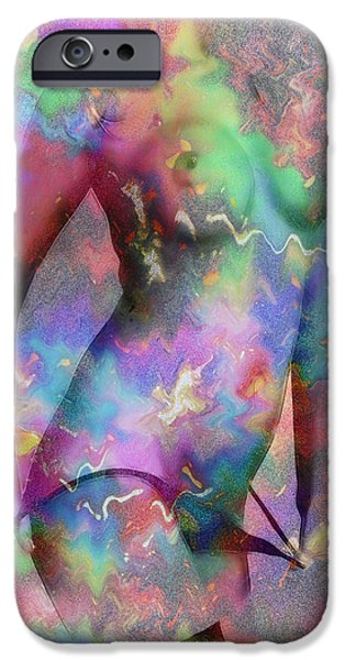 Pleasure Digital Art iPhone Cases - Nuances of Lust iPhone Case by Stefan Kuhn