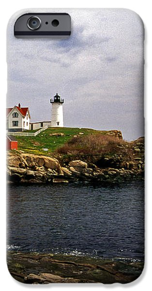 NUBLE LIGHTHOUSE iPhone Case by Skip Willits