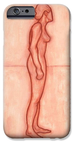Ipad Design iPhone Cases - Nude 11 iPhone Case by Patrick J Murphy