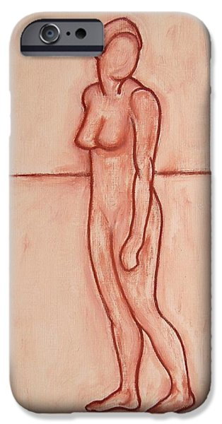 Ipad Design iPhone Cases - Nude 39 iPhone Case by Patrick J Murphy