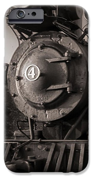Corporate Photographs iPhone Cases - Number 4 Narrow Gauge Railroad iPhone Case by Bob Orsillo