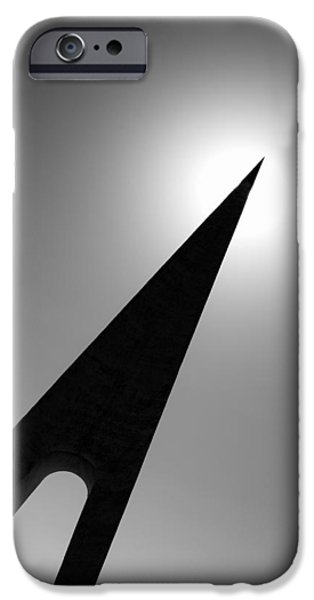 Nungesser and Coli Monument iPhone Case by Dave Bowman