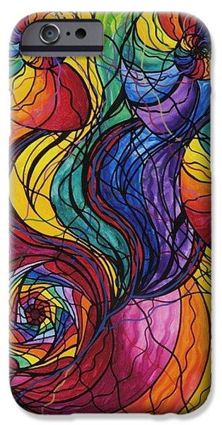Nurture iPhone Case by Teal Eye  Print Store