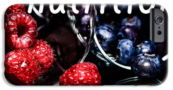 Farm Stand Mixed Media iPhone Cases - Nutrition iPhone Case by Toppart Sweden