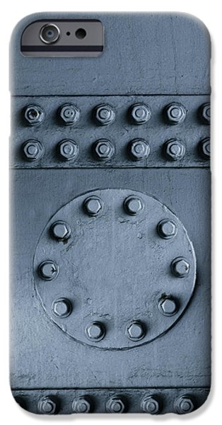 Structural iPhone Cases - Nuts and bolts iPhone Case by Les Cunliffe