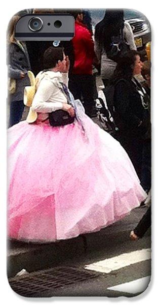 NYC Ball Gown Walk iPhone Case by Susan Garren