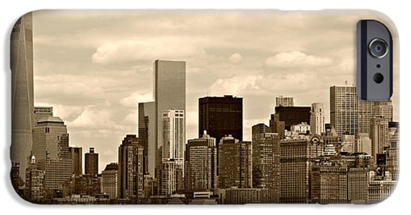 Empire State iPhone Cases - NYC Skyline iPhone Case by Stephen Stookey