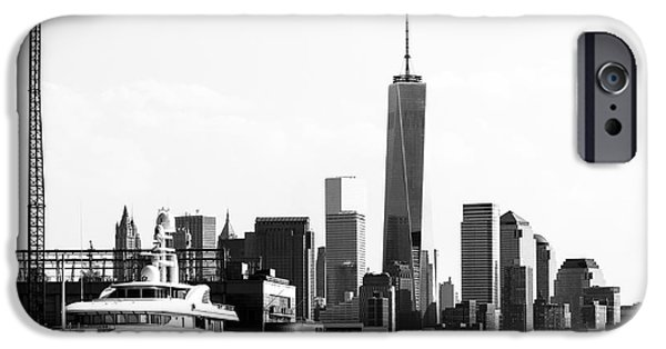 Financial Interest iPhone Cases - NYC Wedge iPhone Case by Robert Yaeger