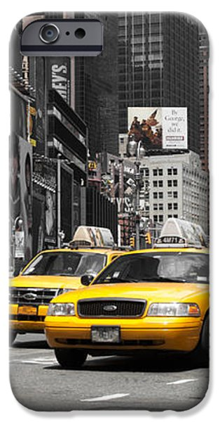 NYC Yellow Cabs - ck iPhone Case by Hannes Cmarits