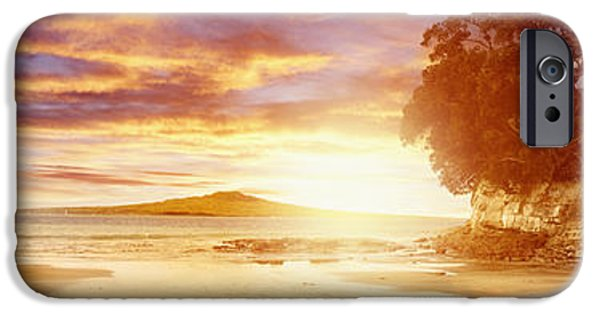 Evening Scenes iPhone Cases - NZ sunlight iPhone Case by Les Cunliffe