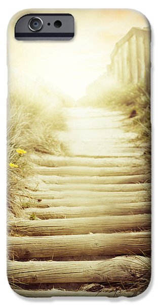 Adventure Photographs iPhone Cases - NZ walkway  iPhone Case by Les Cunliffe