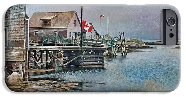 Overcast Day iPhone Cases - O Canada iPhone Case by Nikolyn McDonald