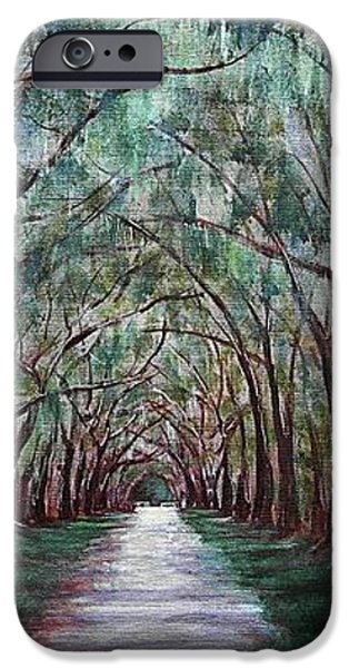Oak Avenue iPhone Case by Anastasiya Malakhova