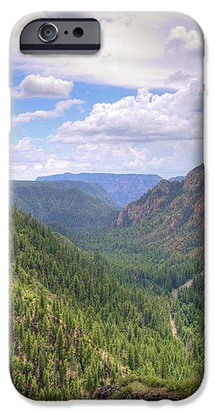 Oak Creek Canyon iPhone Case by Ricky Barnard