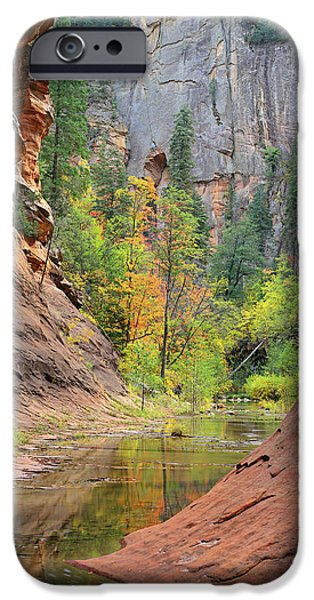 Recently Sold -  - West Fork iPhone Cases - Oak Creek Canyon iPhone Case by Timm Chapman