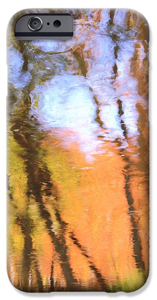 Red Rock iPhone Cases - Oak Creek Reflections iPhone Case by Roupen  Baker