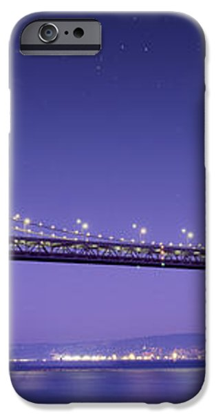 Oakland Bay Bridge iPhone Case by Aged Pixel