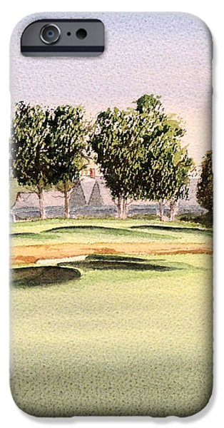 Oakmont Golf Course 14TH iPhone Case by Bill Holkham