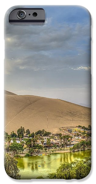 Oasis iPhone Case by Dado Molina