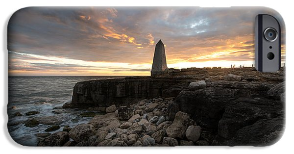 Turbulent Skies iPhone Cases - Obelisk Monument  iPhone Case by Ollie Taylor