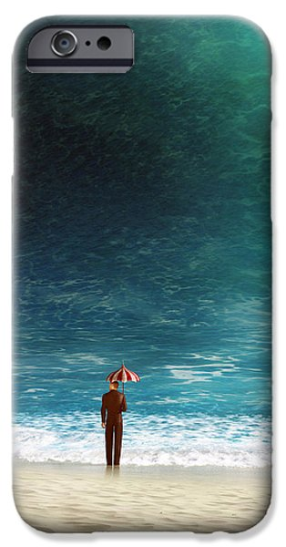 Silly iPhone Cases - Oblivious iPhone Case by Cynthia Decker