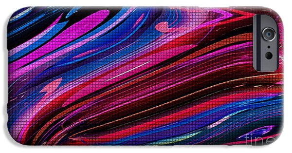 Pleasure iPhone Cases - Obsession-RB iPhone Case by David Winson