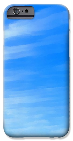 Abstract Seascape iPhone Cases - Ocean 12 iPhone Case by Angelina Vick