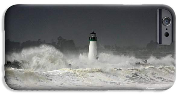 Storm iPhone Cases - Ocean A Fury iPhone Case by Deana Glenz