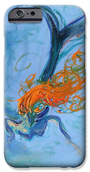 Ocean Angel iPhone Case by Sandra Martin Hudgins