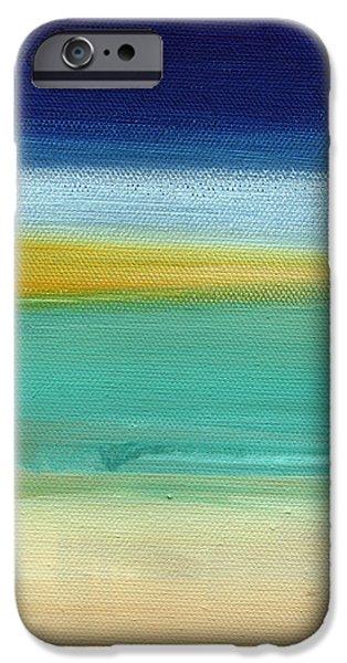Ocean Blue 3 iPhone Case by Linda Woods