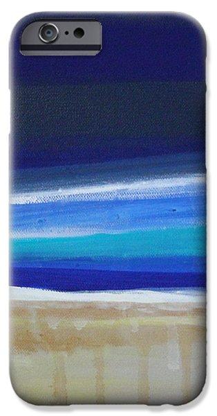 Ocean Blue iPhone Case by Linda Woods
