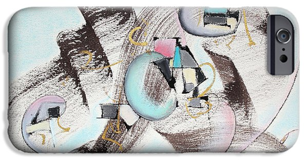 Abstract Expressionist iPhone Cases - Ocean Breeze iPhone Case by Asha Carolyn Young