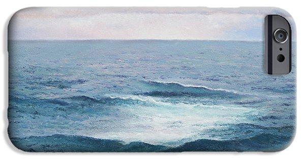 Ocean Sunset iPhone Cases - Ocean by Jan Matson iPhone Case by Jan Matson