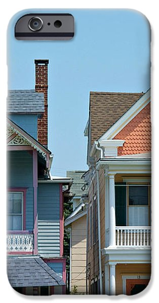 Ocean Grove Gingerbread Homes iPhone Case by Anna Lisa Yoder