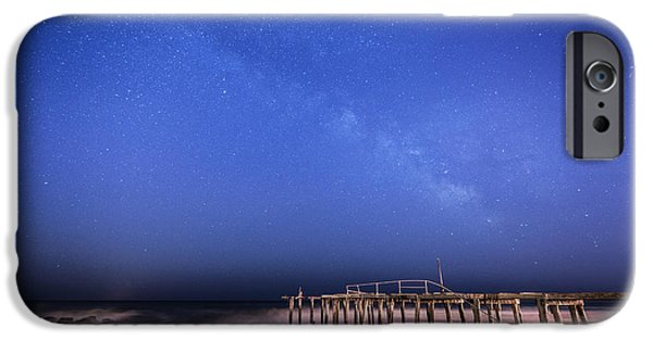 Michael Versprill iPhone Cases - Ocean Grove Milky Way iPhone Case by Michael Ver Sprill