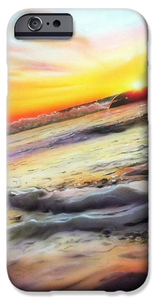 'Ocean Infinity' iPhone Case by Christian Chapman Art