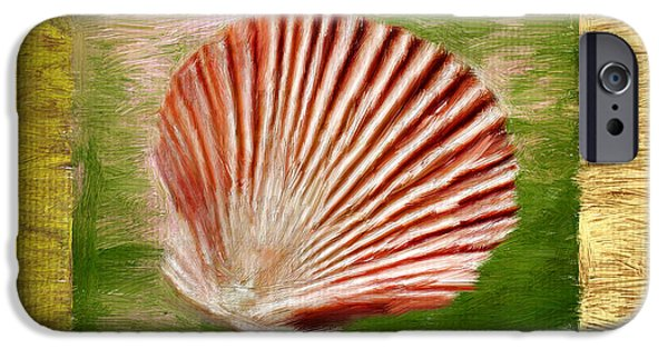 Coastal Decor Digital iPhone Cases - Ocean Life iPhone Case by Lourry Legarde