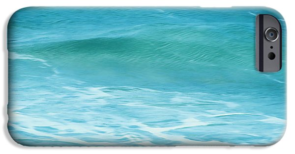 Pastel iPhone Cases - Ocean Lullaby iPhone Case by Roselynne Broussard