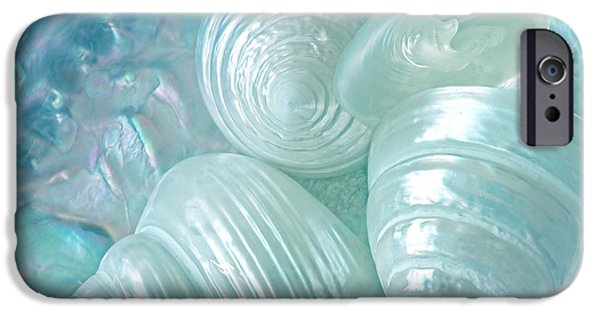 Abalones iPhone Cases - Ocean Pearl Treasure iPhone Case by Gill Billington