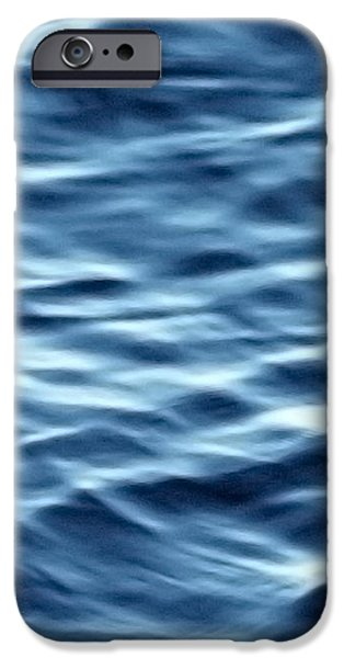 Ocean Ripples iPhone Case by Artist and Photographer Laura Wrede