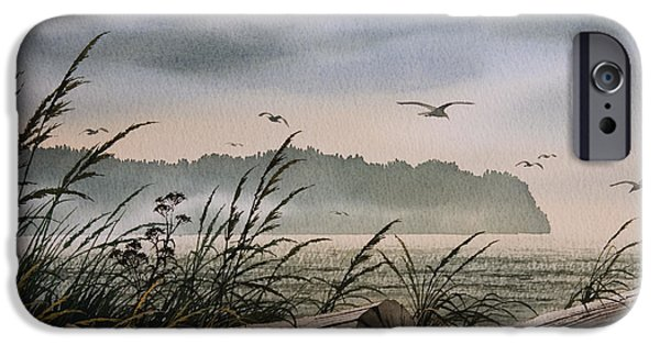 Seacoast iPhone Cases - Ocean Shore iPhone Case by James Williamson