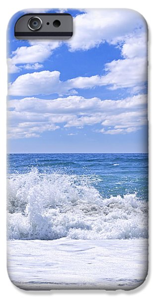 Ocean surf iPhone Case by Elena Elisseeva