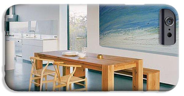 Gallery Owners Paintings iPhone Cases - Ocean Tides III iPhone Case by Sheila Elsea