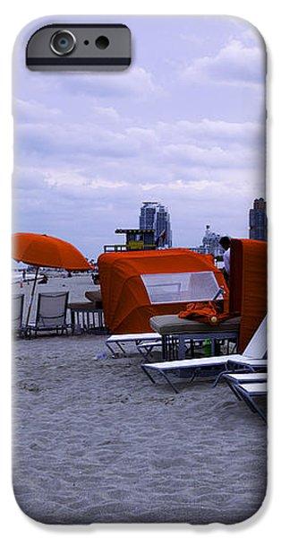 Ocean View 6 - Miami Beach - Florida iPhone Case by Madeline Ellis