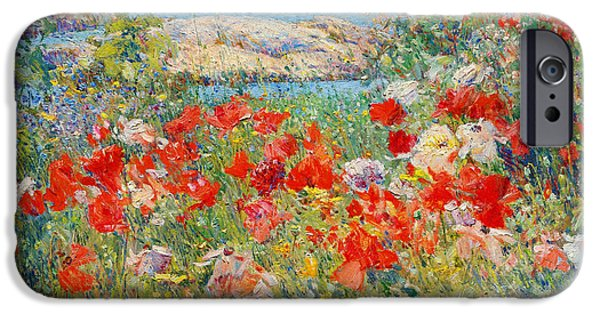 Childe iPhone Cases - Ocean View iPhone Case by Childe Hassam