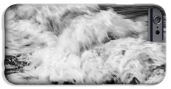 Turbulent iPhone Cases - Ocean wave I iPhone Case by Elena Elisseeva