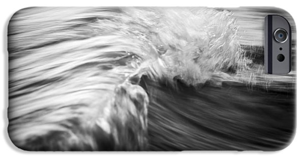 Turbulent iPhone Cases - Ocean wave III iPhone Case by Elena Elisseeva