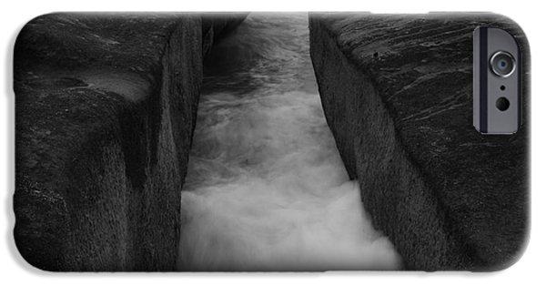 Abstract Seascape iPhone Cases - Ocean Zen  iPhone Case by John Tsumas