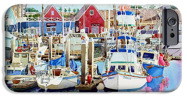 Sailing Photographs iPhone Cases - Oceanside California iPhone Case by Mary Helmreich