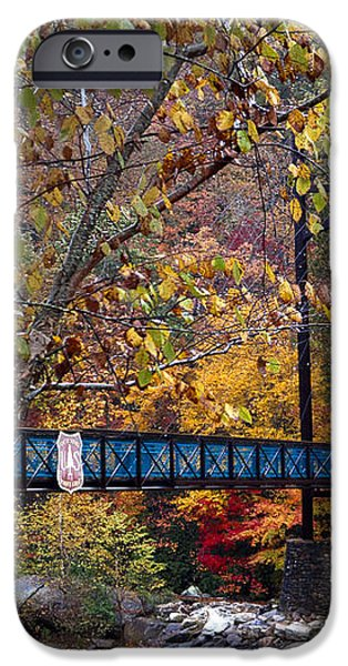 Ocoee River Bridge iPhone Case by Debra and Dave Vanderlaan
